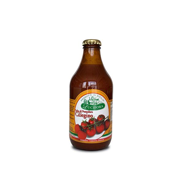 CHERRY TOMATO SAUCE bottle 330 ml.