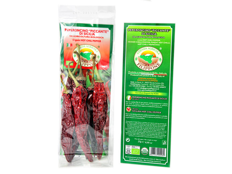 SICILIAN HOT CHILI PEPPER 25 gr.