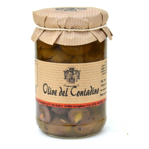COUNTRY STYLE OLIVES fl.oz. 10,61 - ml. 314