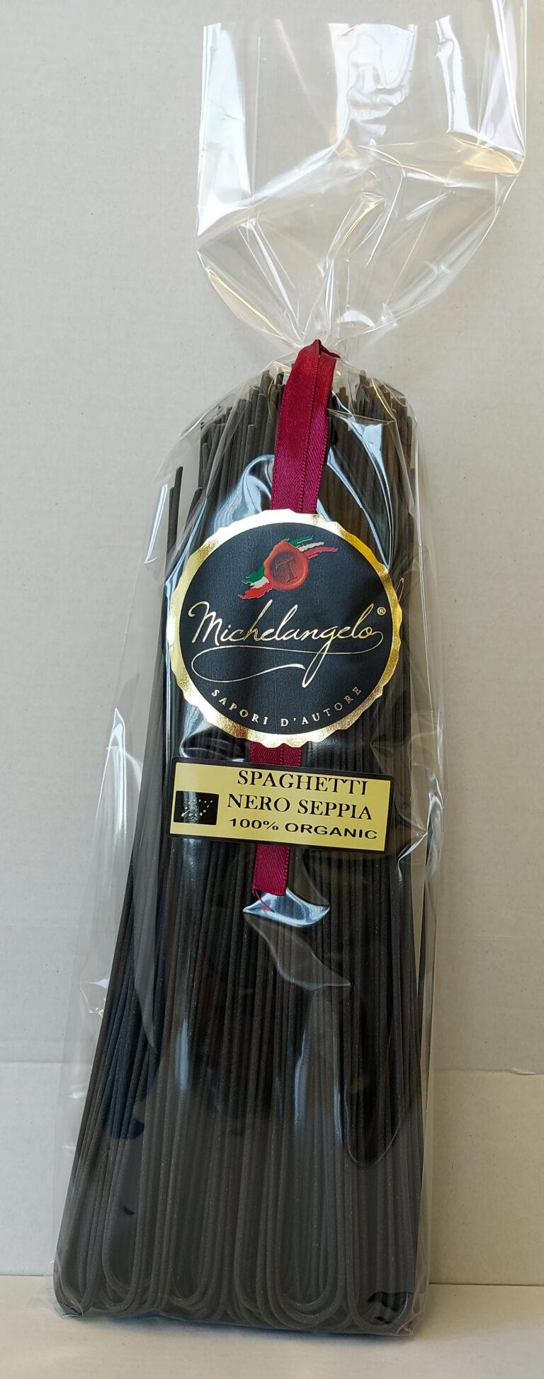 Spaghetti nero di seppia 100% organic - oz 17,63